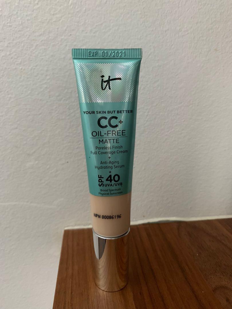 It cosmetics cc matte foundation