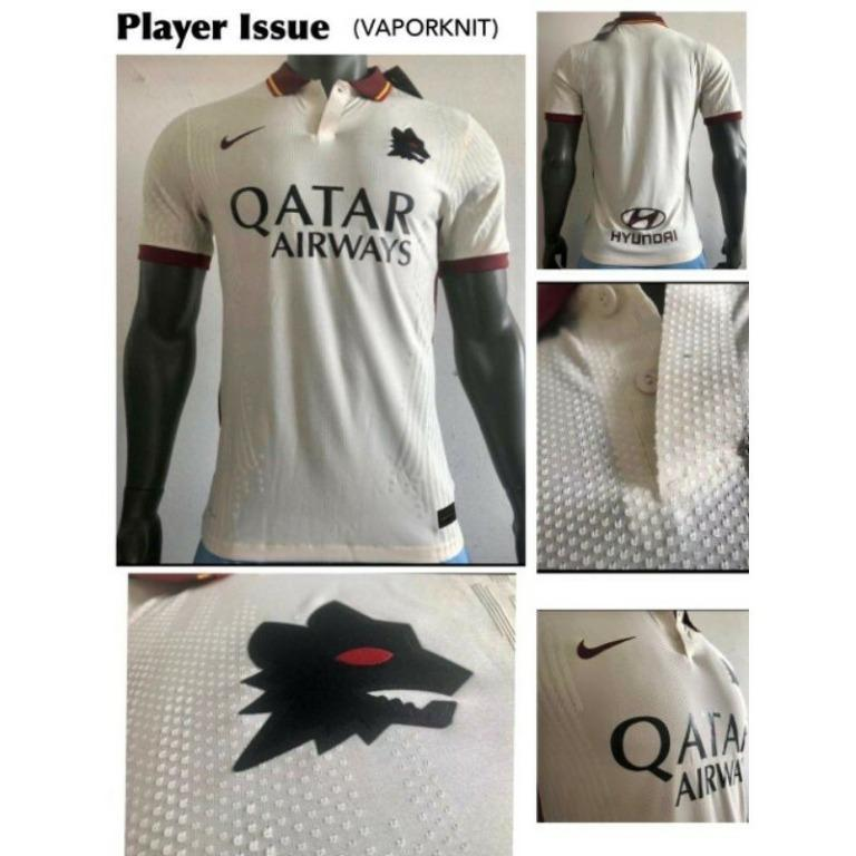 JERSEY BOLA ROMA AWAY PLAYER ISSUE 2020/2021 GRADE ORI