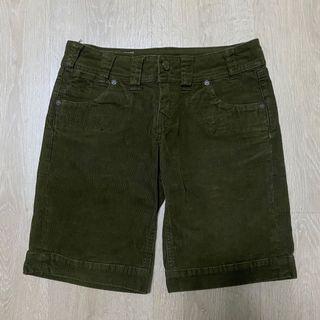 Levi's 短褲 Vintage 古著 墨綠 穿搭