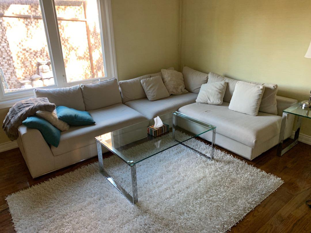 Living Room Couch Sectional Sofa