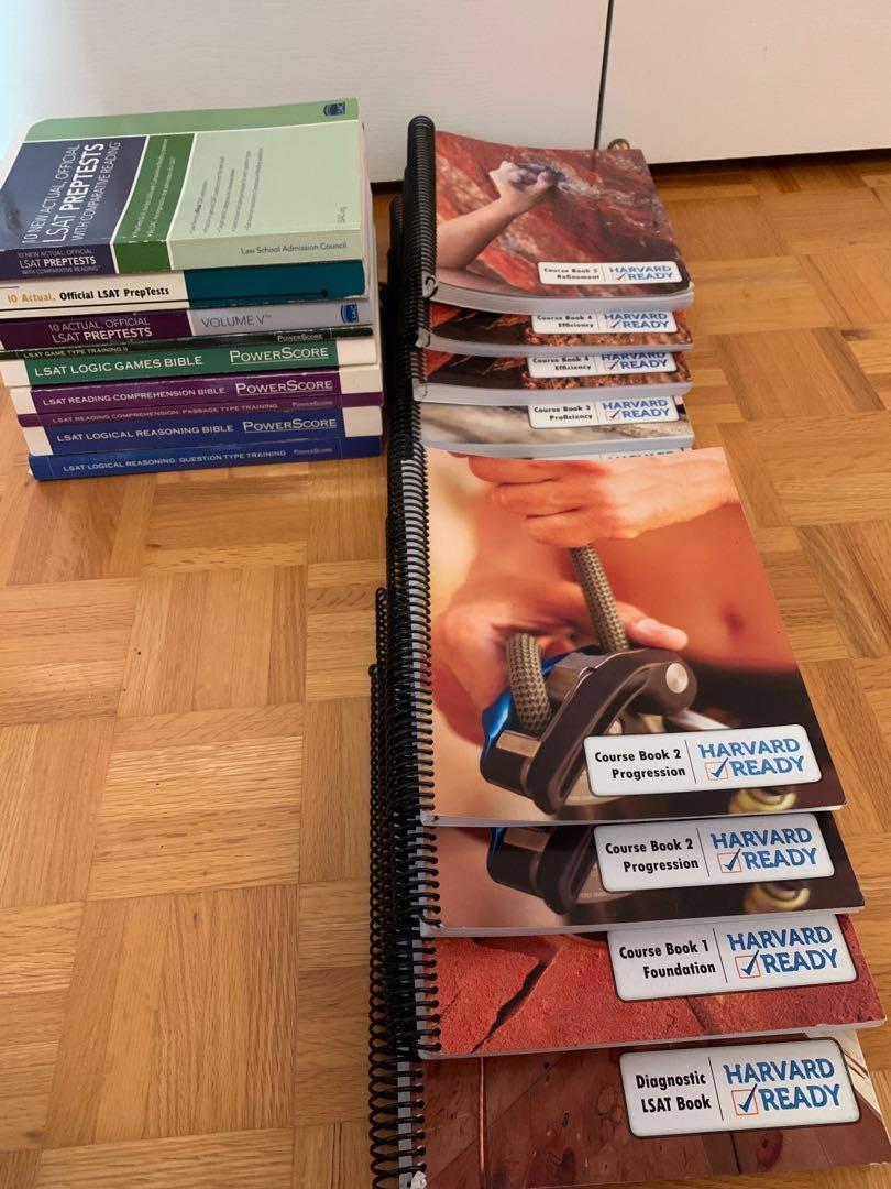 LSAT TEXTBOOKS & PREPTESTS