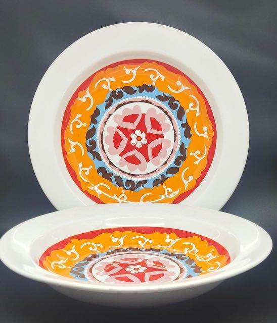 Marocco dinner plate cekung