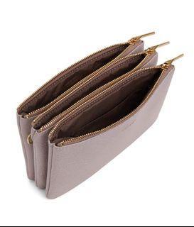 Matt & Nat • triple zipper crossbody bag