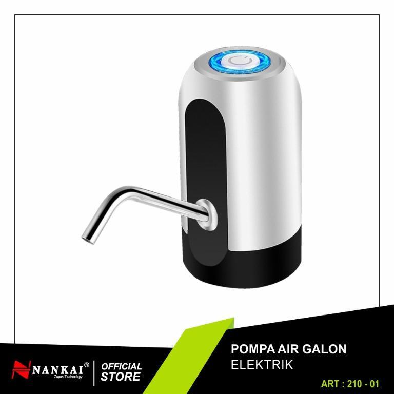 [BARU] Nankai Pompa Air Galon Elektrik Rechargeable Water Pump Electric