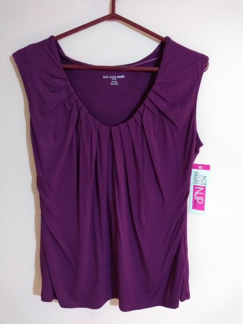 Not Just Pants pleated tank top