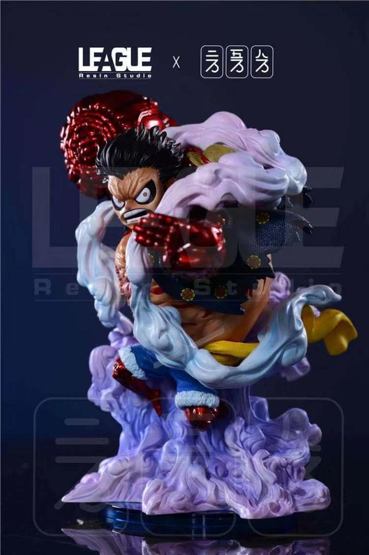 One Piece Monkey D Luffy Gear 4 Bounceman Toys Games Action Figures Collectibles On Carousell