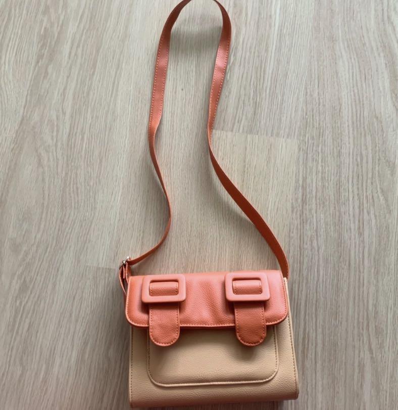 Orange Crossbody Bag (Used Once)