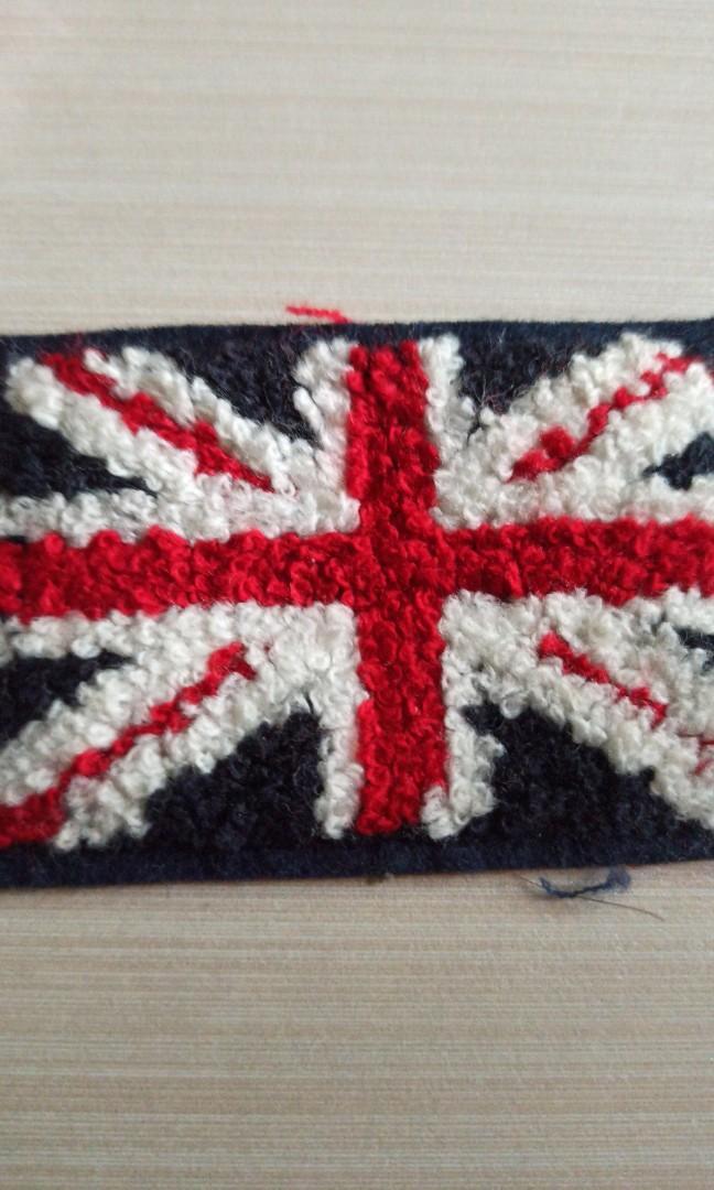 patch bendera inggris england flag