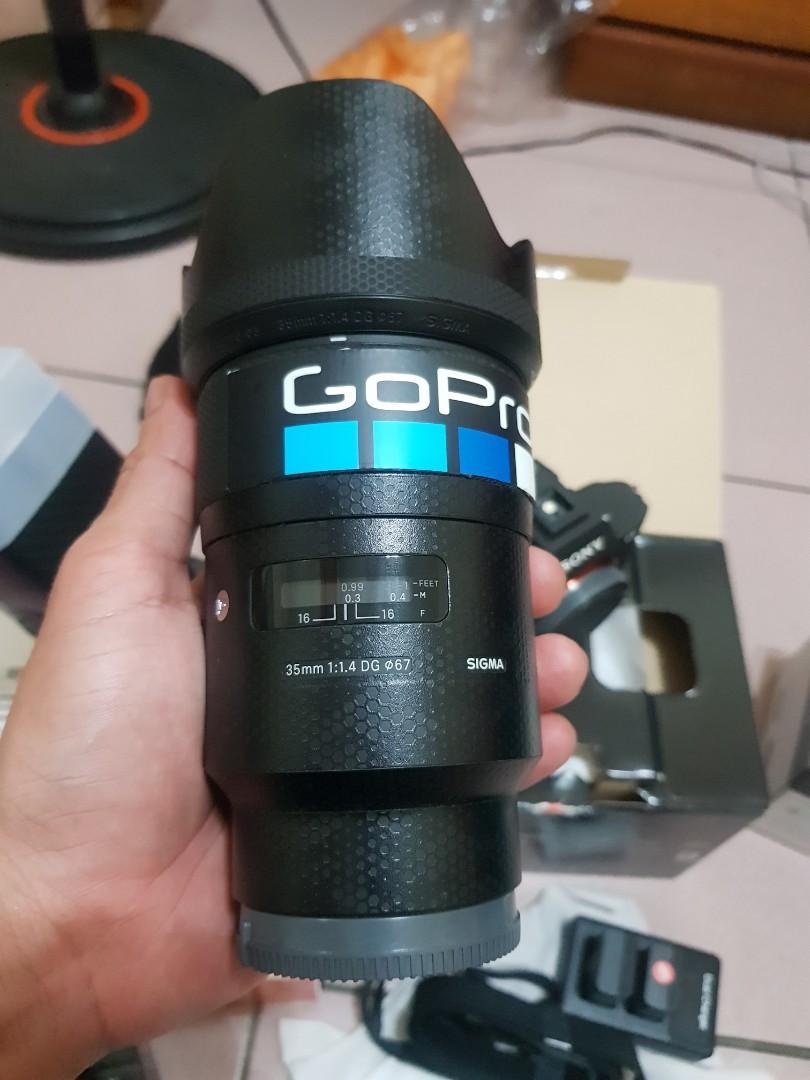 Sigma 35mm f1.4 arf for sony