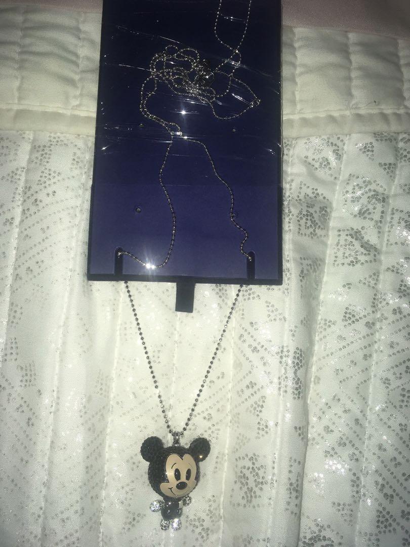 Swarovski limited edition Mickey Necklace