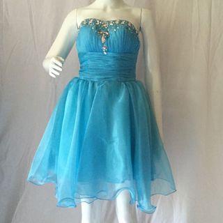 Sweetheart Dress in Blue