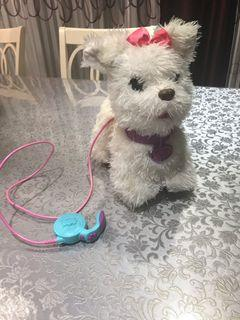 Toy FurReal friends need 4C battery talking walking barking make noise moving her tail it is used one but great condition
