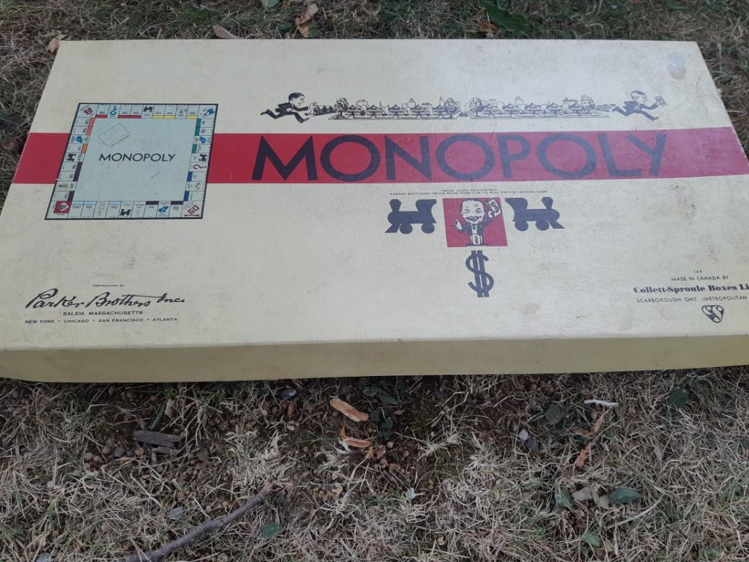 Vintage Monopoly game 1936