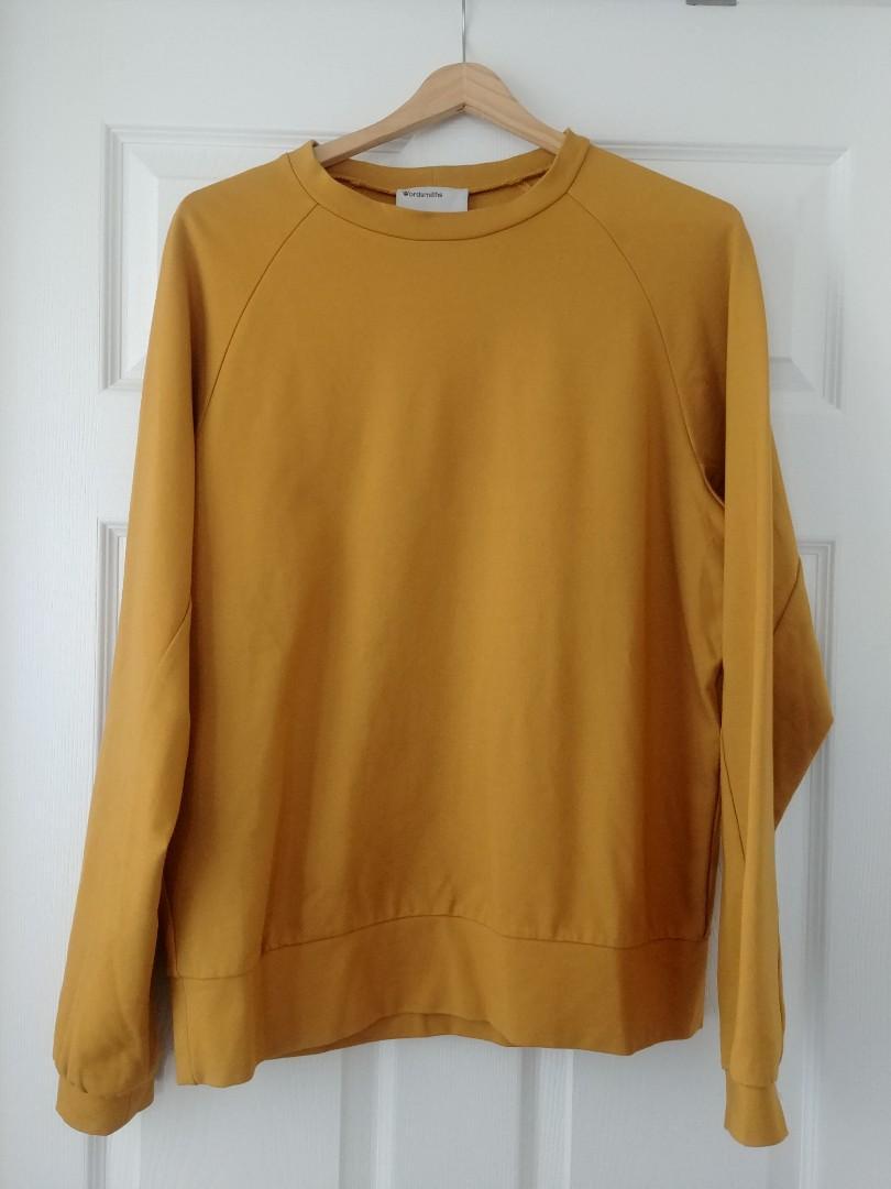 Wordsmiths Yellow Sweatshirt