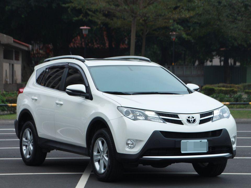 2013 Toyota RAV4 2.5 白 頂級版