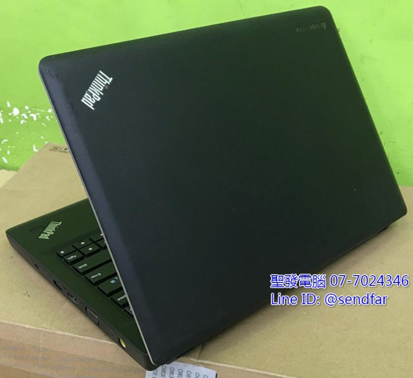 全新240SSD 便攜高效商務 LENOVO E330 i5-3210M 4G 13吋 聖發二手筆電
