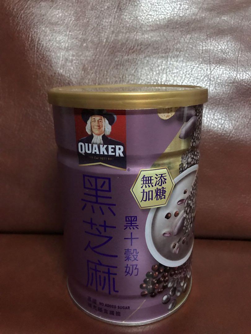 🐠代購🐠桂格黑芝麻黑十穀奶390g 無添加糖