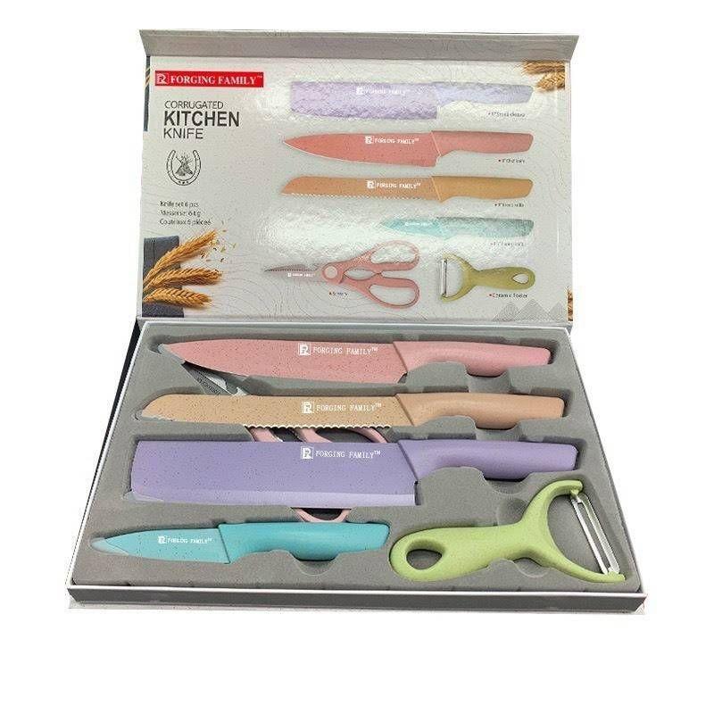 6pieces kitchen knife set
