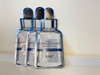 正貨 AHC面膜 安瓶精華 透明質酸 天絲纖維面膜 新版 第三代 高濃度 B5玻尿酸 保濕 補水面膜 27ML