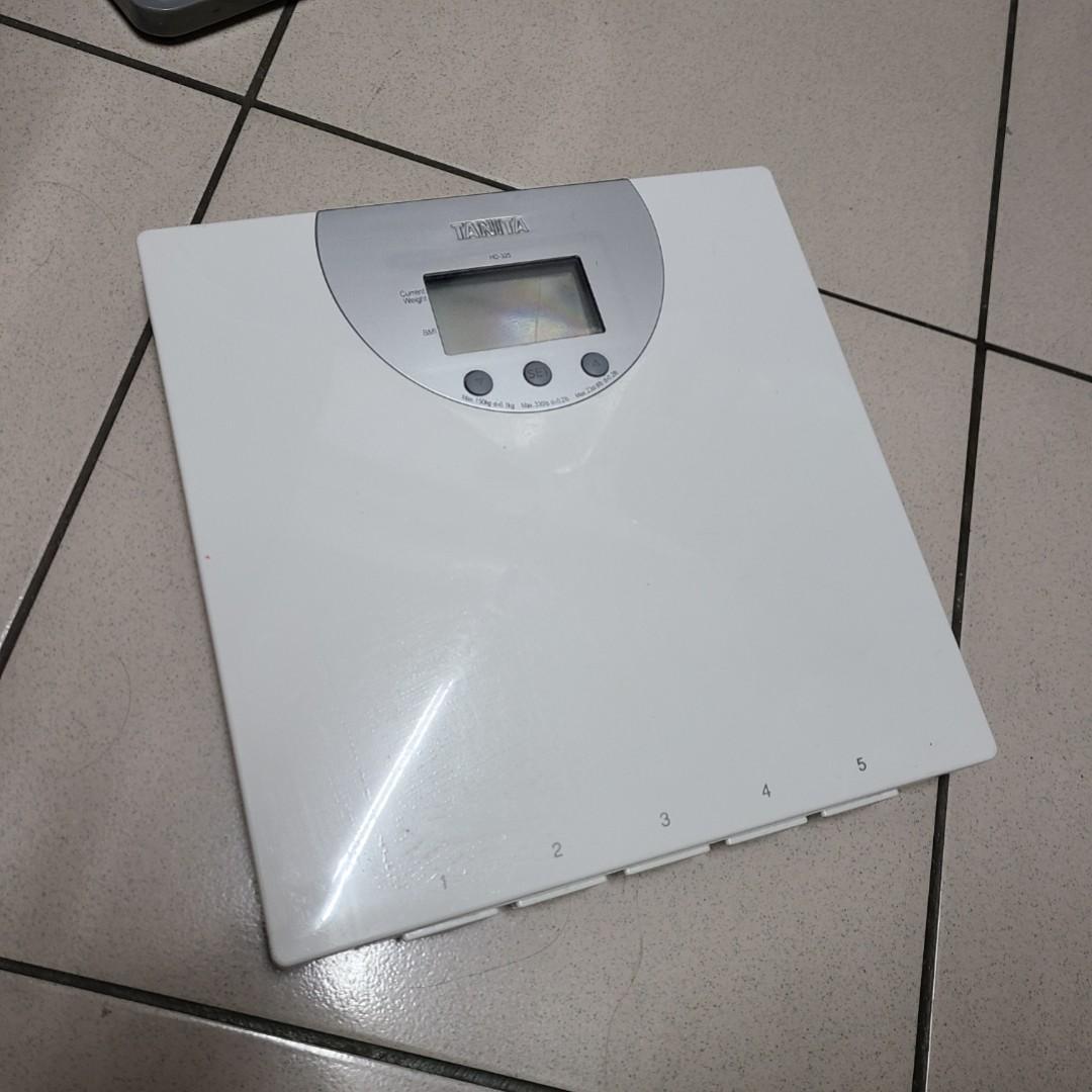 搬家出清 TANITA BMI電子體重計HD325