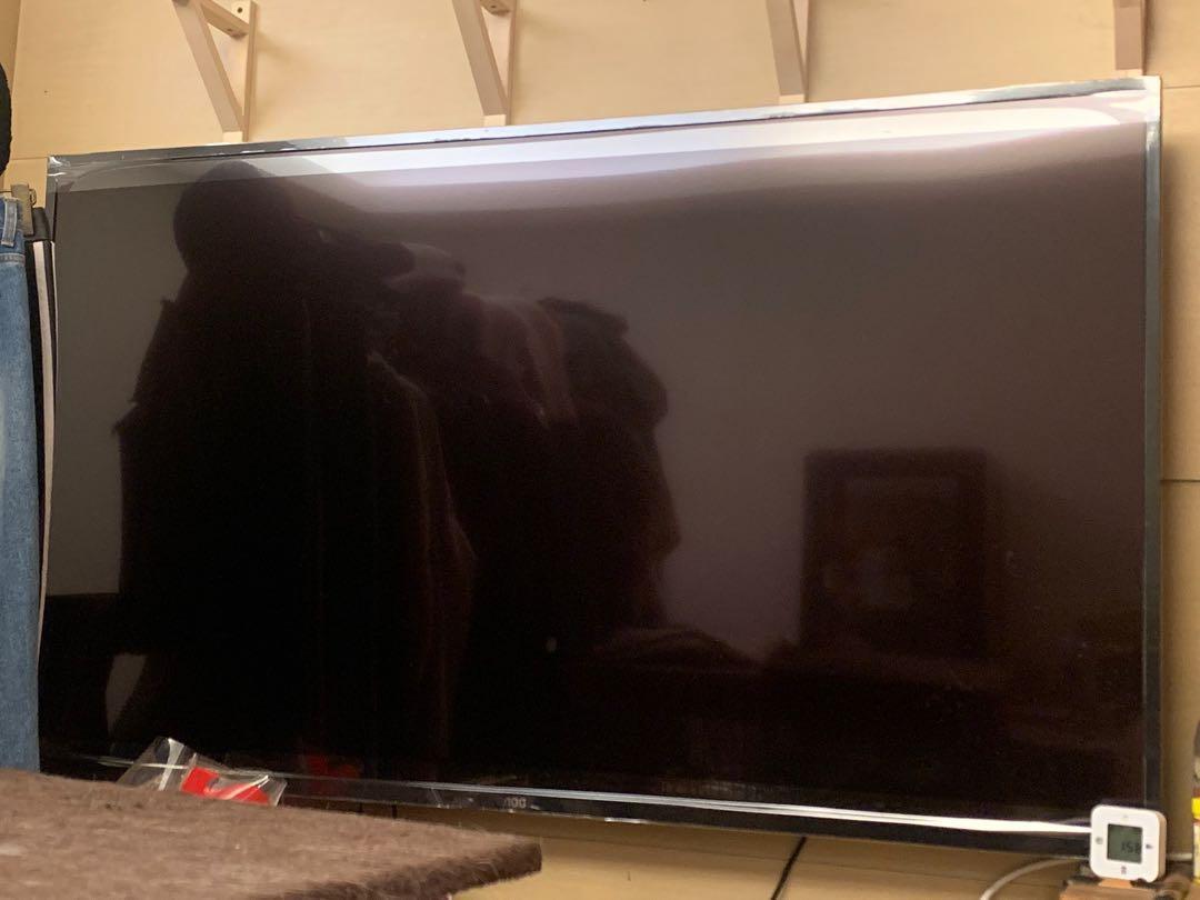AOC 65型 液晶電視機 限淡水自取 送壁掛支架 今年購入 九成新