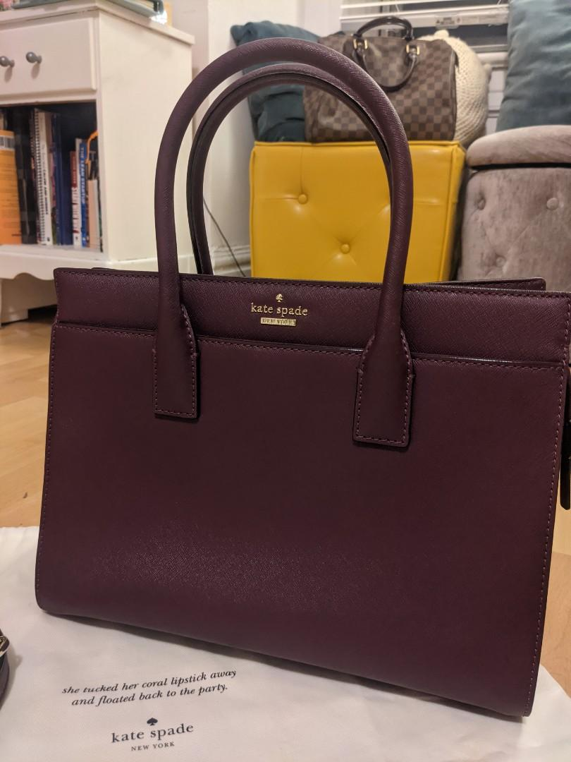 Authentic NWT Kate Spade Candace Cameron Street satchel top handle Bag
