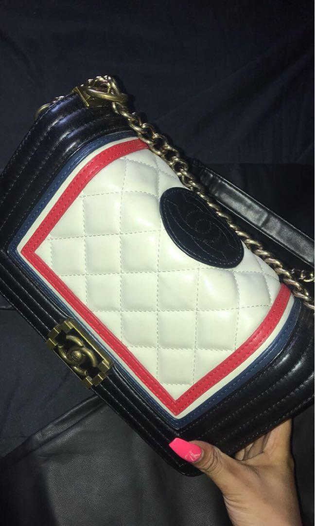 Chanel Boy Shoulder Bag