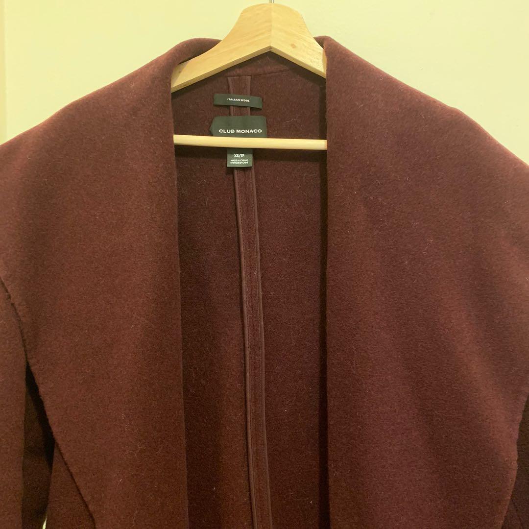 Club Monaco wool coat