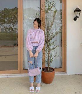 Daeun top lilac