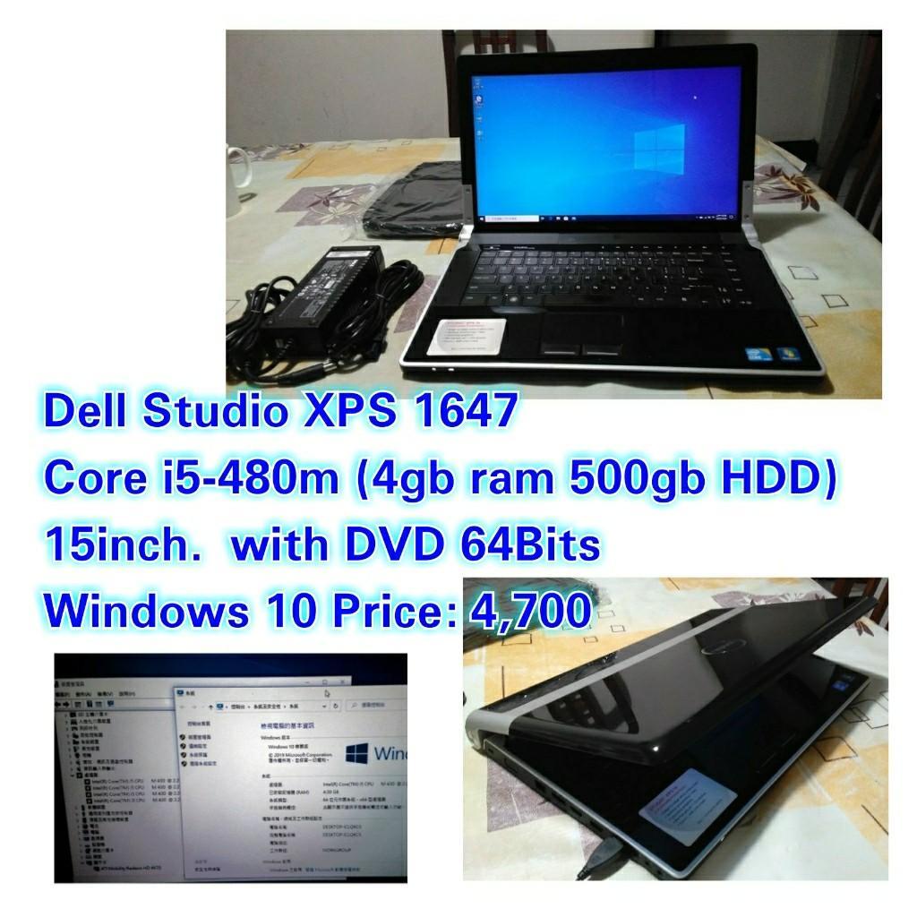 Dell Studio XPS 1647 Core i5-480m