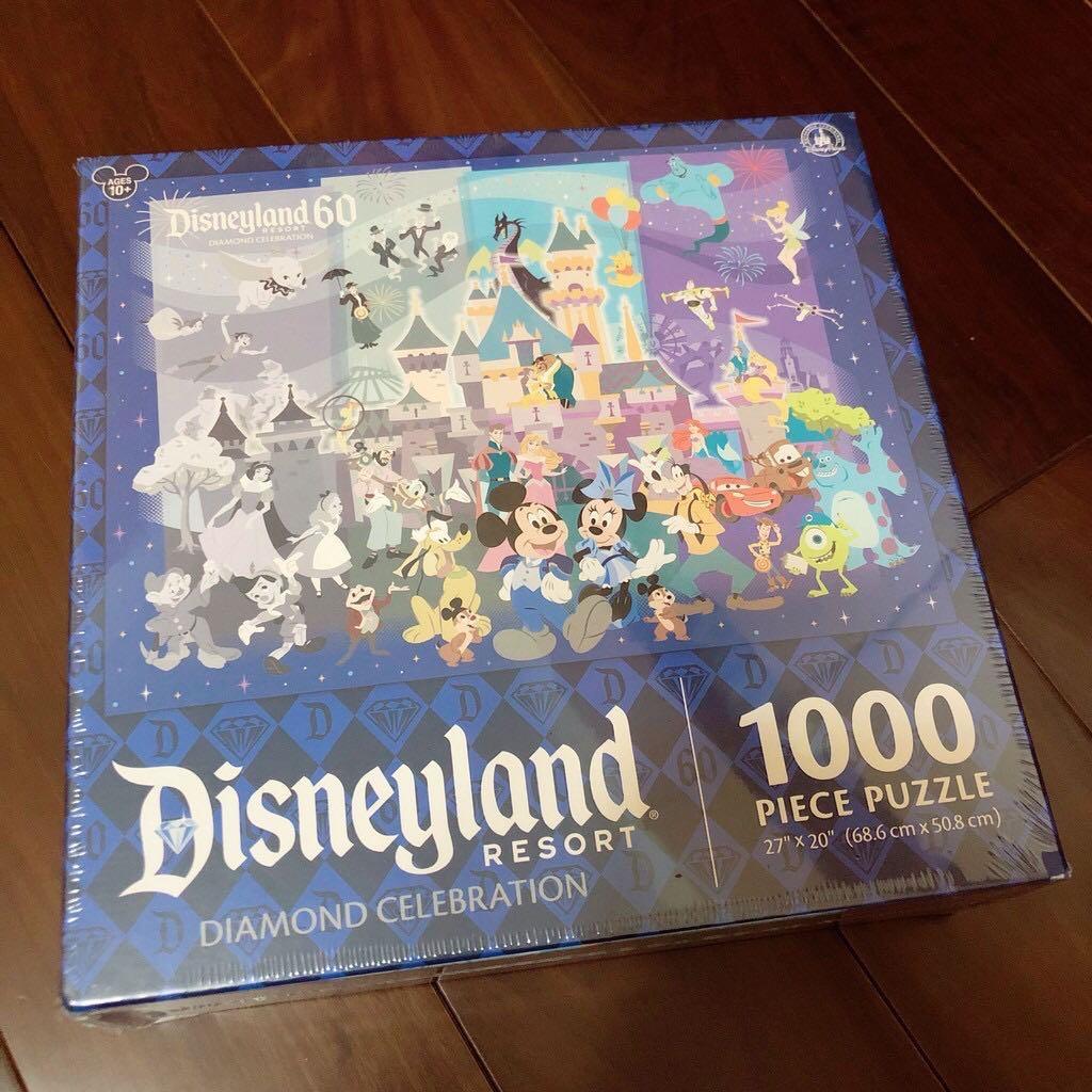 🇺🇸美國直購🇺🇸迪士尼Disney 60週年1000片拼圖