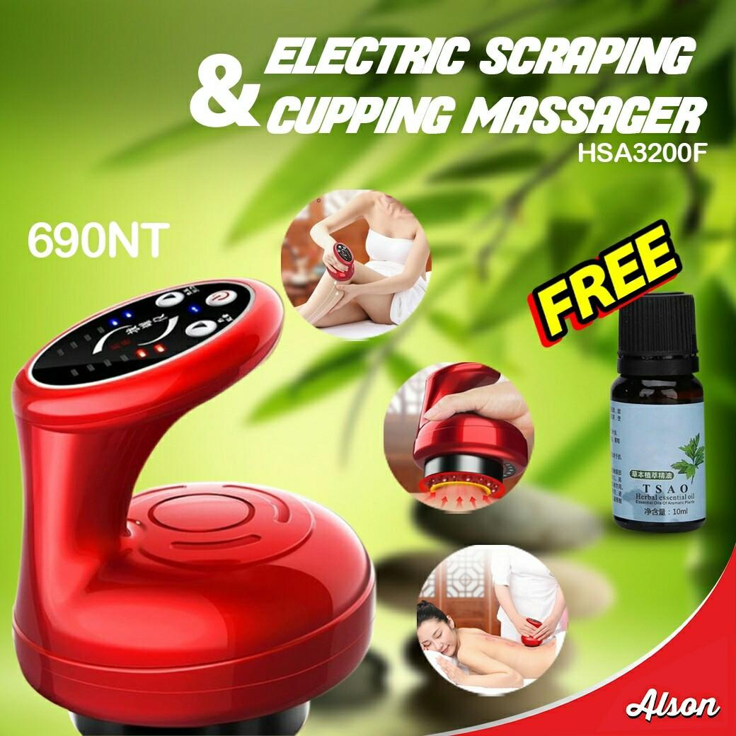 ELECTRIC SCRAP & CUPPING MASSAGER