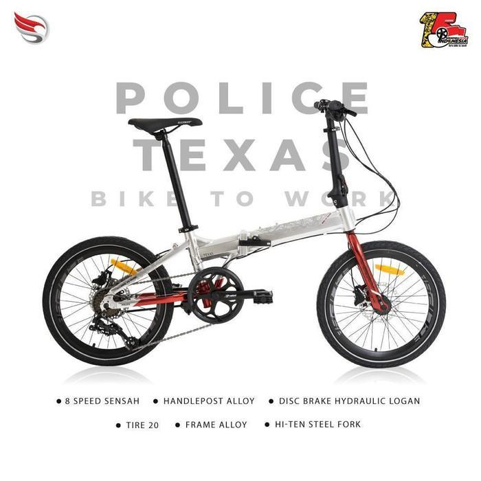 Element Police Texas B2W 8 speed Bisa cash/kredit DP Free Adm