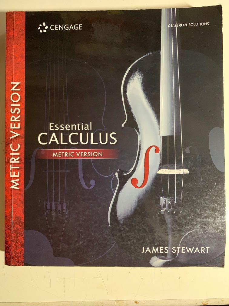 [微積分]Essential Calculus