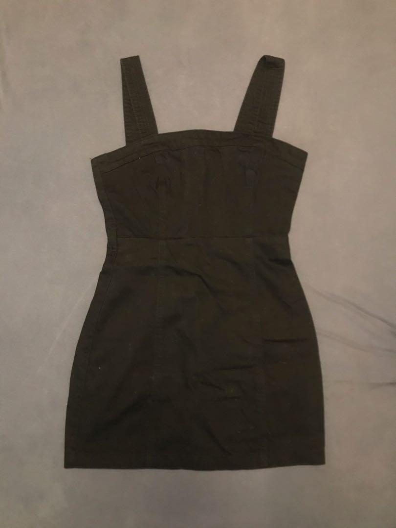 F21 Overall Dress