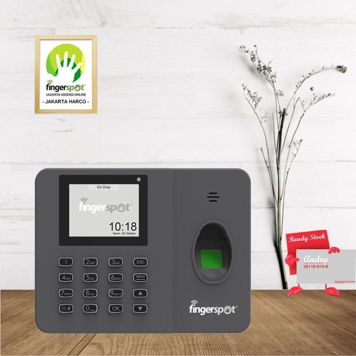 Fingerspot Revo W202BNC Mesin Absensi Bisa Koneksi WIFI