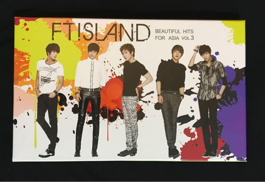 FTIsland 二手專輯 Beautiful Hits for Asia Vol.3
