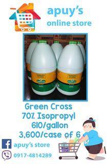 Green Cross 70% Isopropyl Original