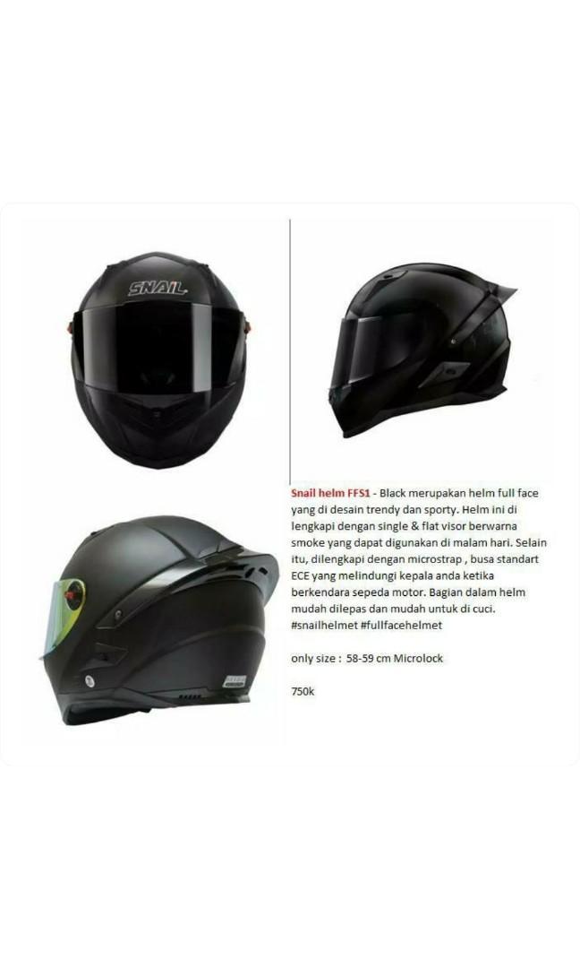 Helm Snail Black