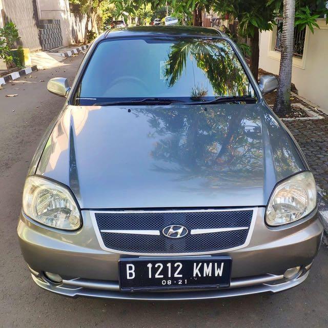 Hyundai Avega SG matic AT 2007 istimewa no PR bukan accent verna