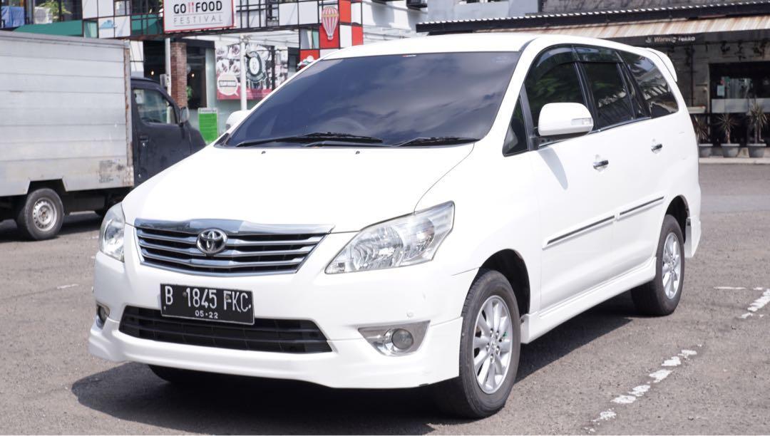 Innova V Luxury 2012 MT CASH Istimewa Langka