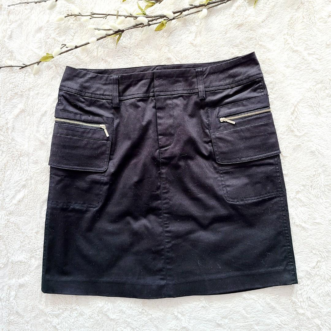 Jacob A-line Black Skirt