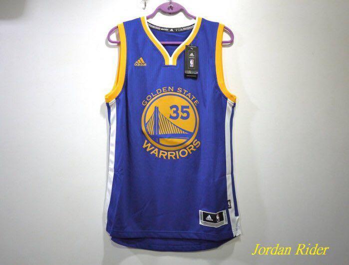 Jordan Rider 喬丹騎士 adidas NBA Swingman Jersey Kevin Durant KD 35 杜蘭特 金州 勇士隊 客場 球衣 藍色 Warriors