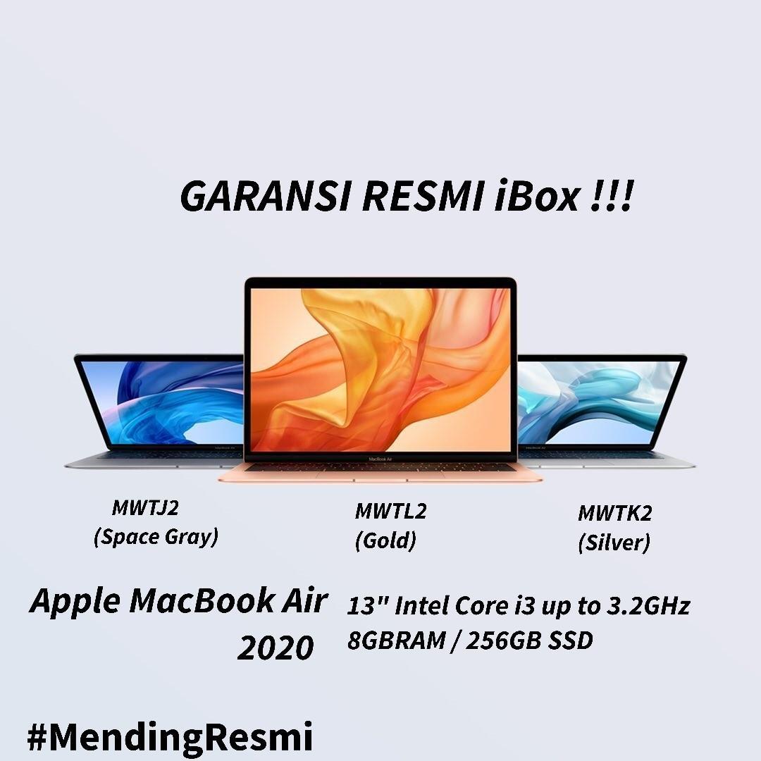 Kredit MacBook Air 2020 MWTL 13/8GB/256GB Resmi Tanpa K Kredit Free Admin
