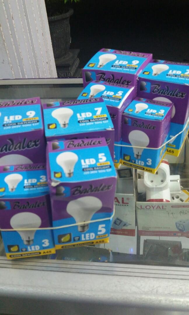 Lampu murah paket badalex isi 4