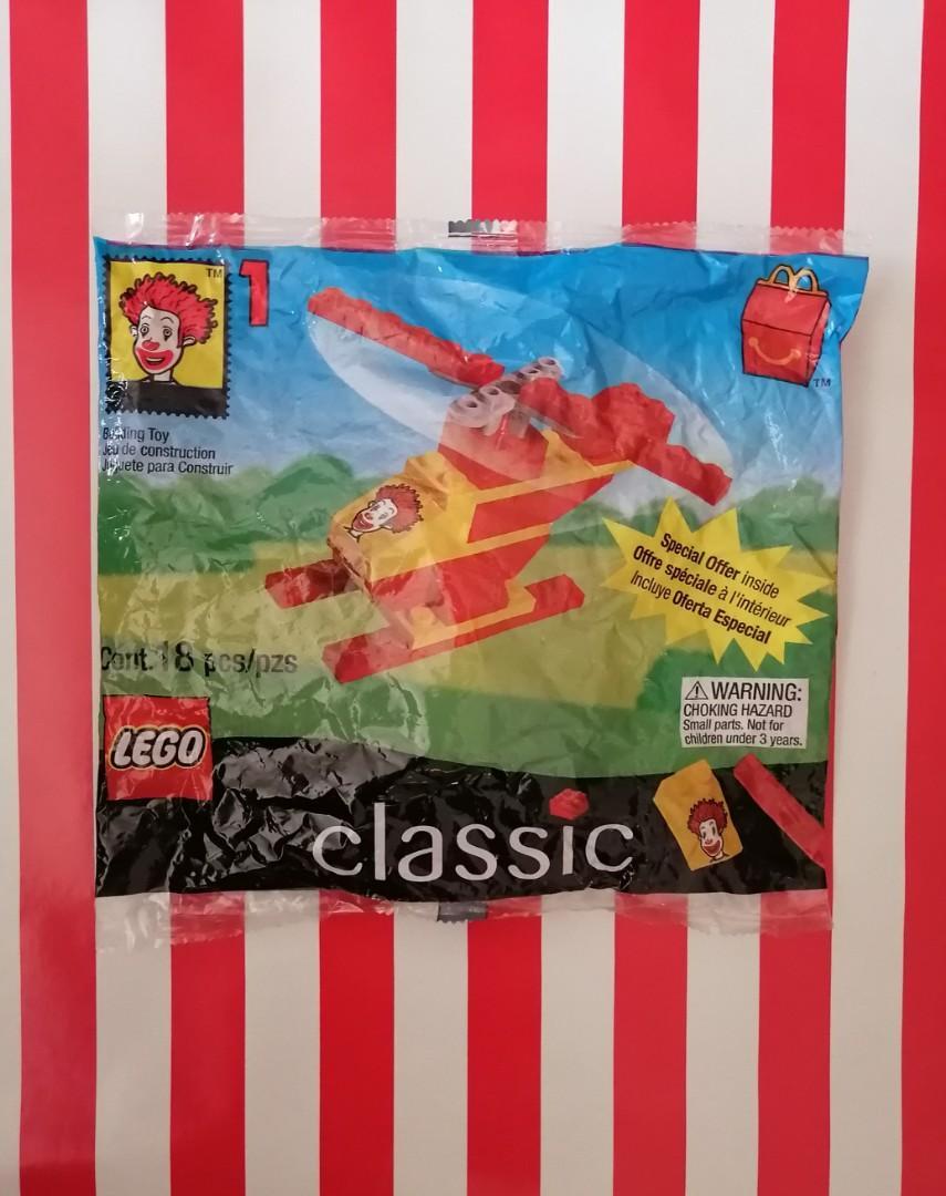 LEGO Classics - McDonalds Plane/Boat