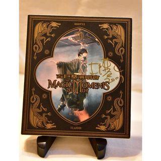 古巨基Leo Ku親筆簽名影音光碟(VCD) -The Magic Moments 2007Live演唱會(3片VCD)  #2020掰掰