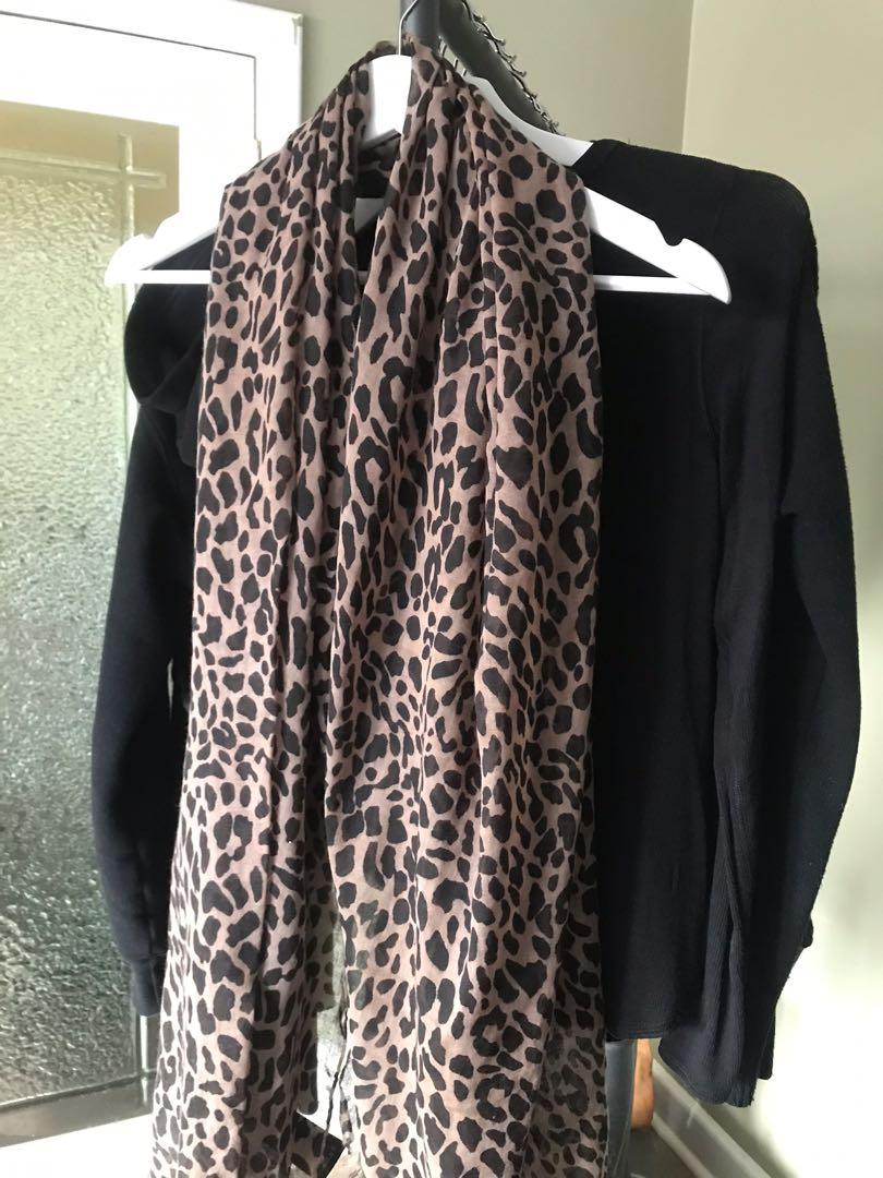 Marciano Leopard Scarf One Size