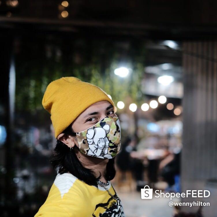 Masker kain fashion