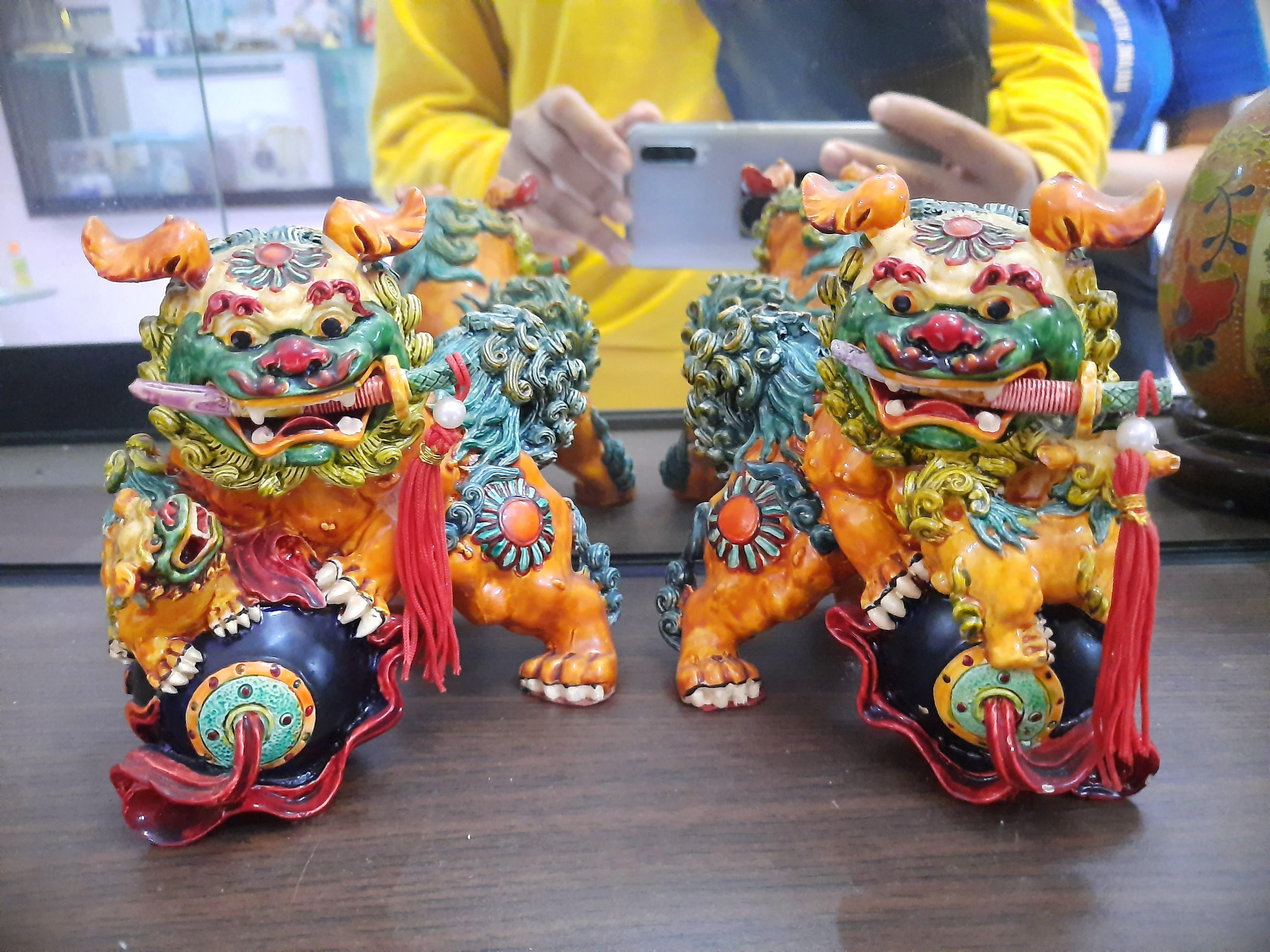 Patung Singa Cina 4